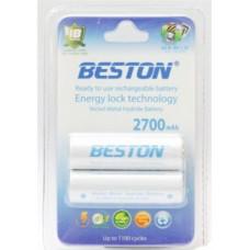 Аккумулятор BESTON AA 2700mAh Ni-MH 2шт Ready-to-use